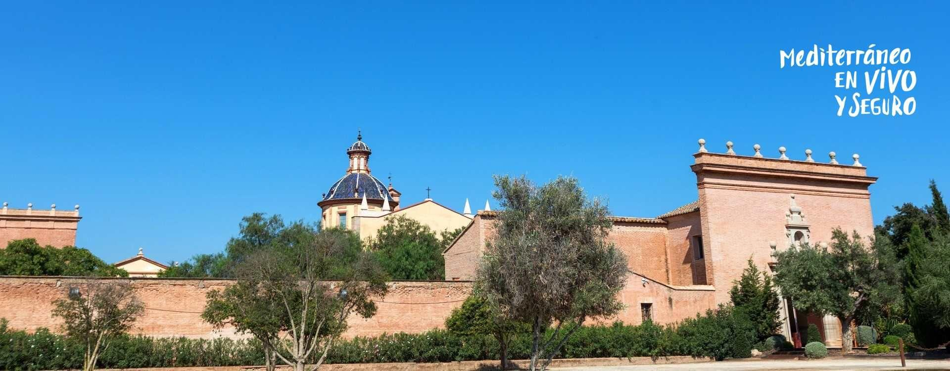 Image of the Carthusian monastery of Ara Christi